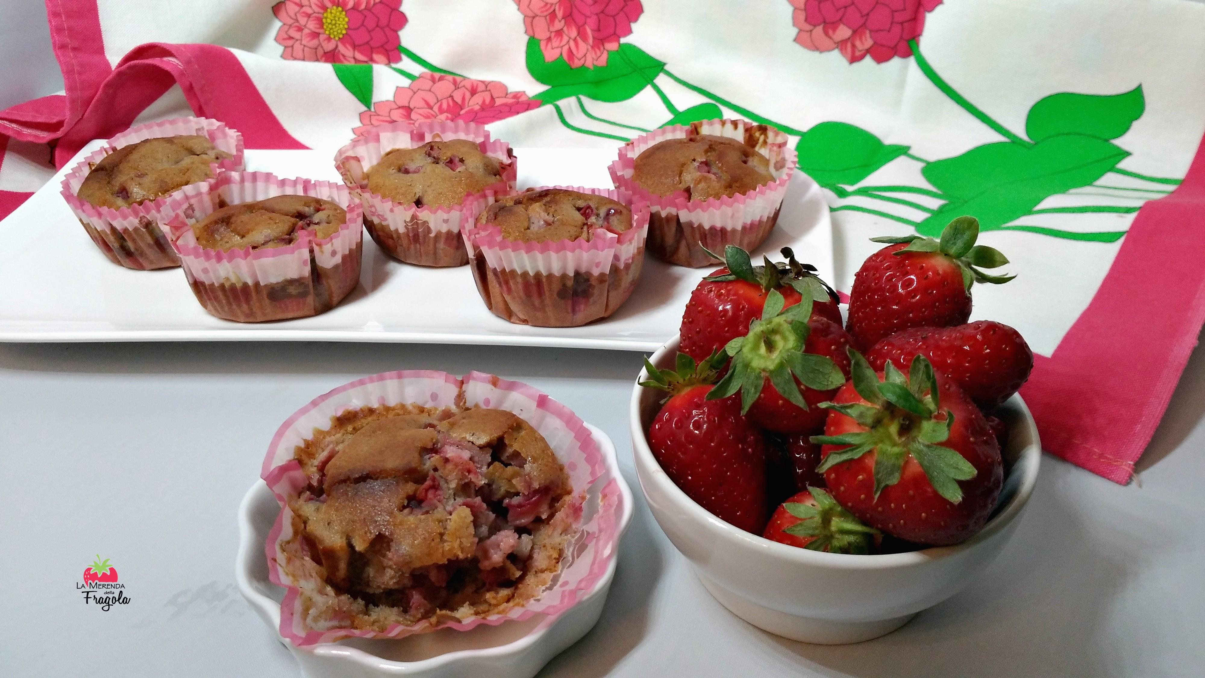 muffin-fragole